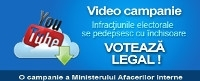 Video Campanie - Votează legal